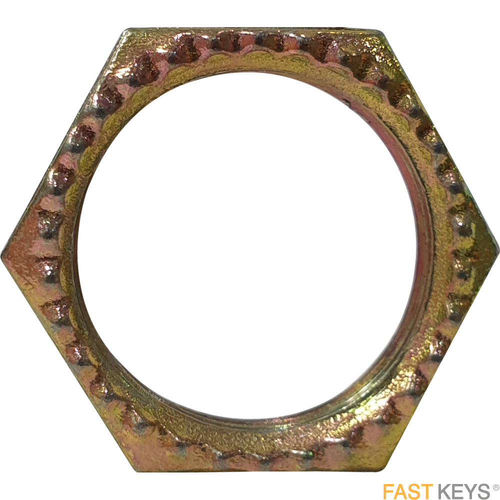 Cam lock locking nut, suitable for CyberLock cam and ped locks