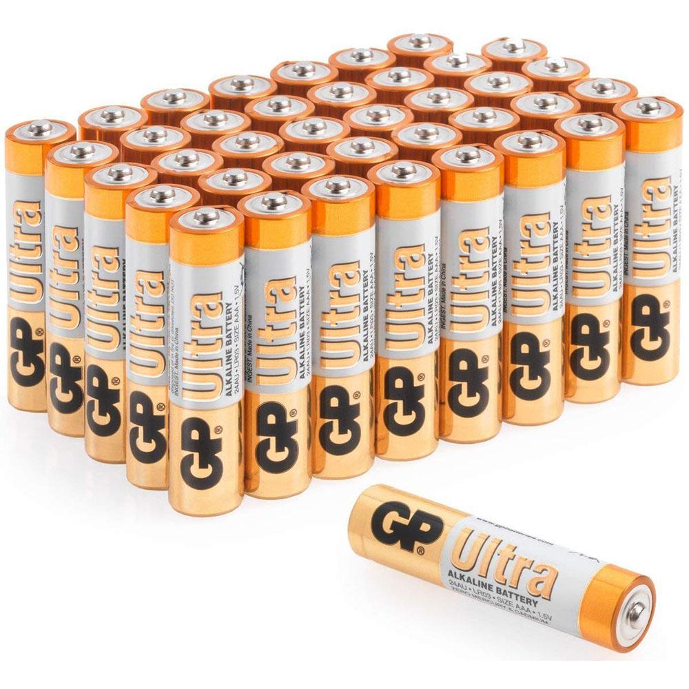 GP ULTRA AA alkaline batteries pack of 4 Batteries