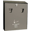 Cigarette Bins - Wall Mountable Lockable Ash Bins