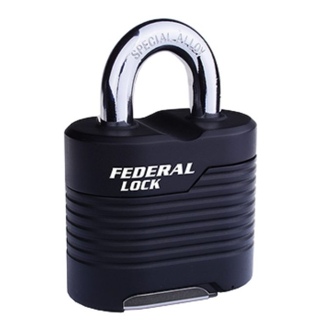 FEDERAL Padlocks - Combination - Standard shackle