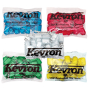 Kevron Click Tags, Individual colours bagged in quantities of 50 Key Tags