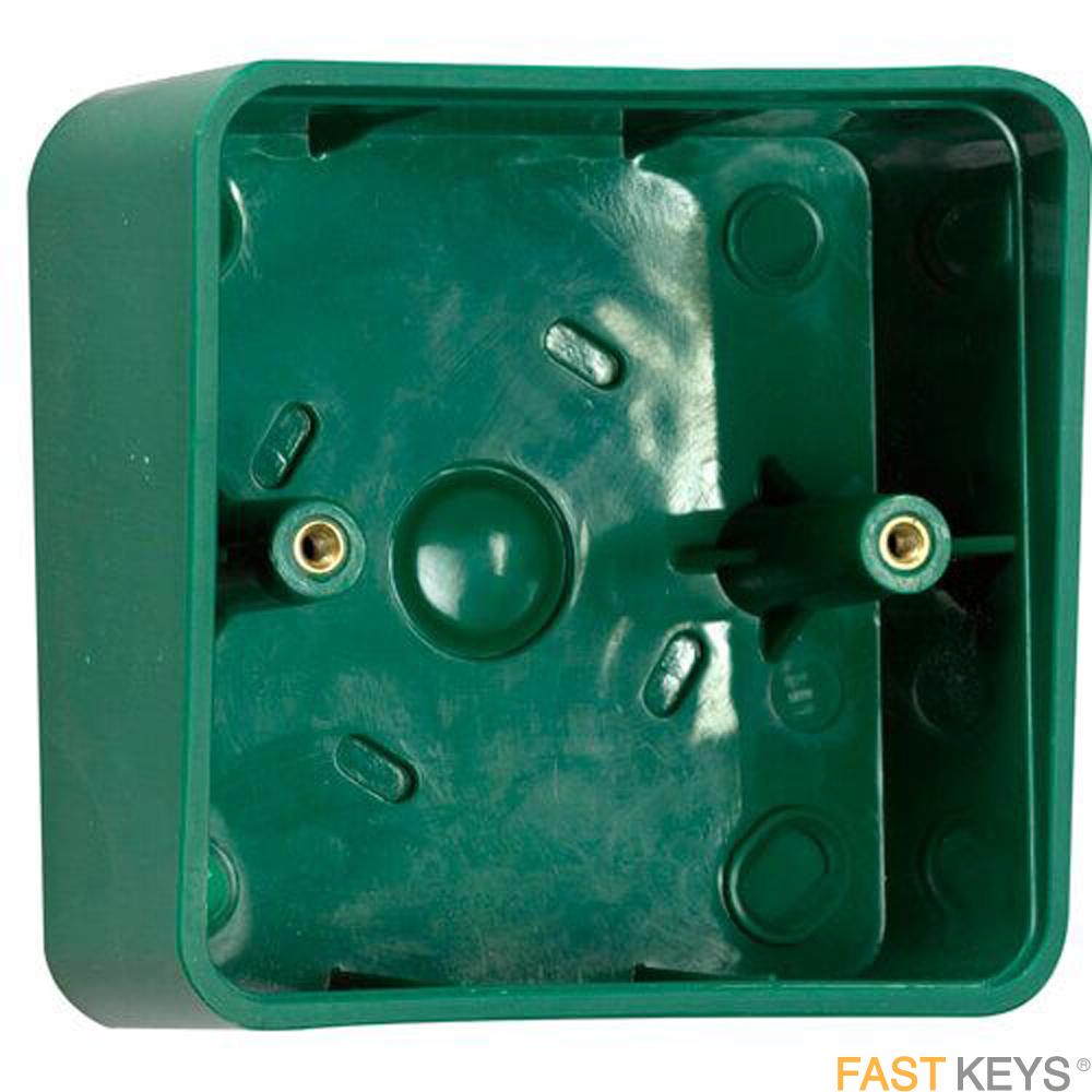 TSS BACBOXGRNSH - Green plastic shrouded back box Access Control