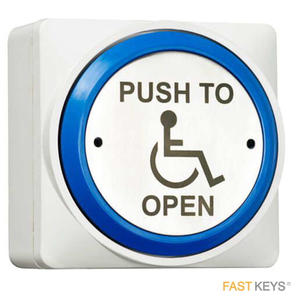 TSS DDAEXITPAD - DDA push to open plate Access Control