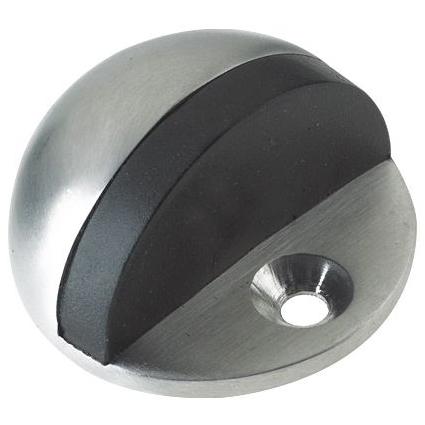 ZOO Door Stop - Cylinder - 70mm Projection With Rose Door Stop