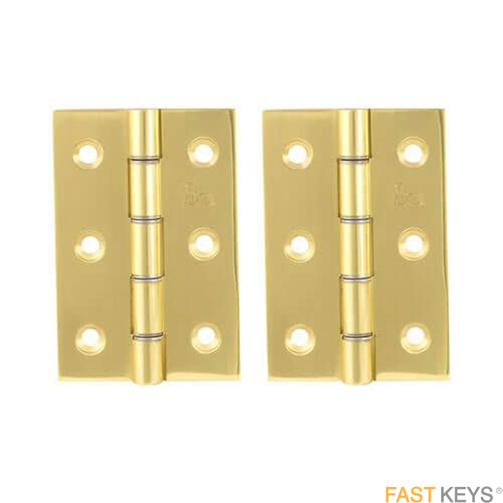 TSS Double Steel Washered Butt Hinges, Supplied as a Pair Hinges