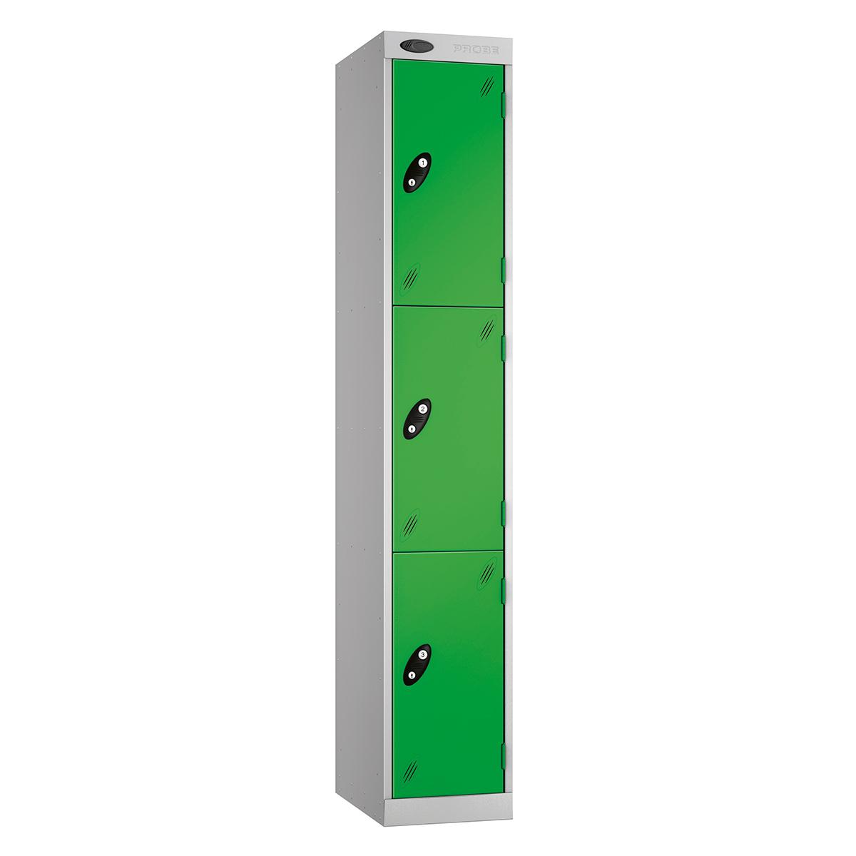 Probe Express Box Lockers - Nest 1 - 3 Tier Lockers