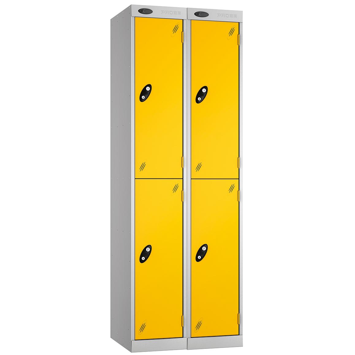 Probe Express Box Lockers - Nest 2 - 2 Tier Lockers