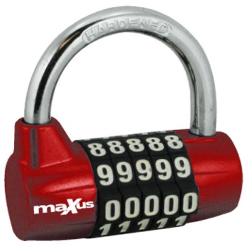MAXUS Padlocks - Combination - Standard shackle
