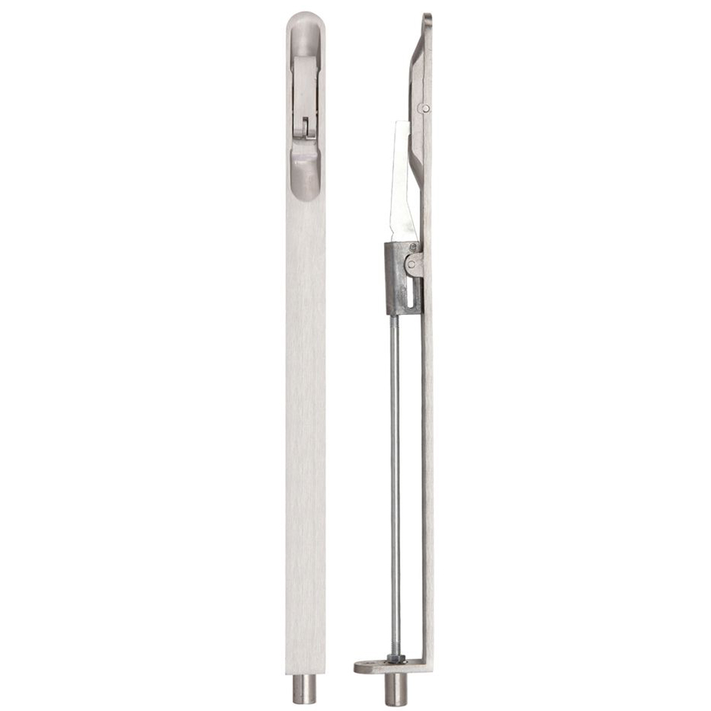 ZOO ZAS05RSS Lever Action Flush Bolt - 20 X 305mm - Radius - Satin Stainless Flush Bolts