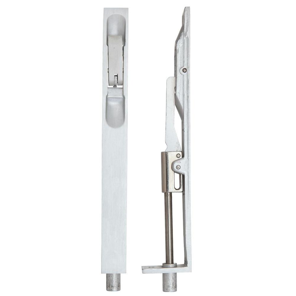 ZOO ZAA03SA Lever Action Flush Bolt 20 X 200mm - Satin Aluminium Flush Bolts