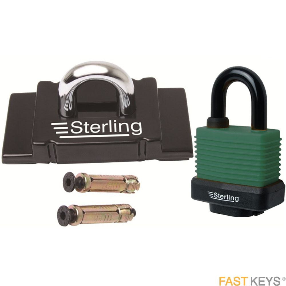 Sterling security anchor and padlock. Security Anchors