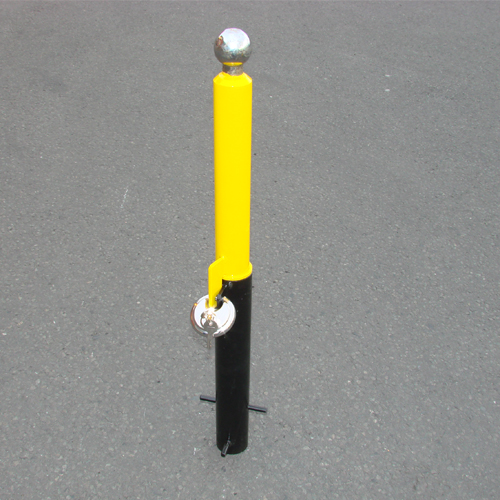 MP9735 Security Post - Removable Trailer Hitch Security Posts