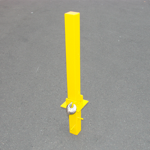 MP9739 Security Post - Heavy Duty Fold Down Parking Security Posts