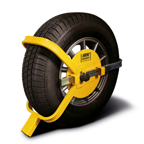 "MP9065 Wheelclamp 13""-17"" 215mm Max Tyre Width Vehicle Security"