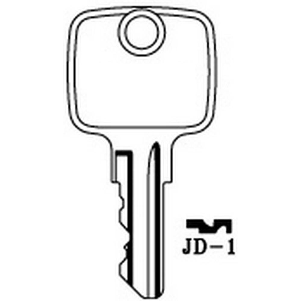 JOHN DEERE Industrial Keys