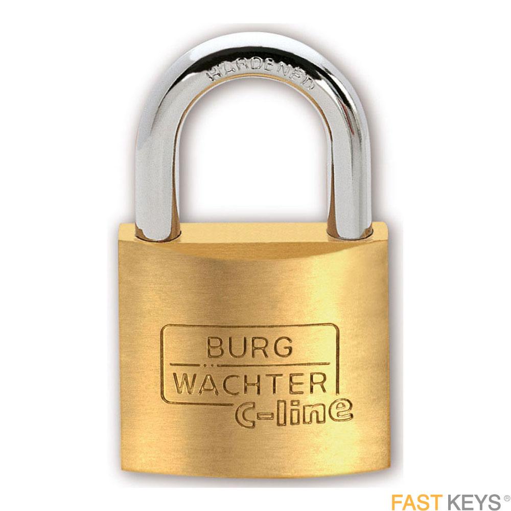 BURG WACHTER Padlocks - Keyed - Standard shackle