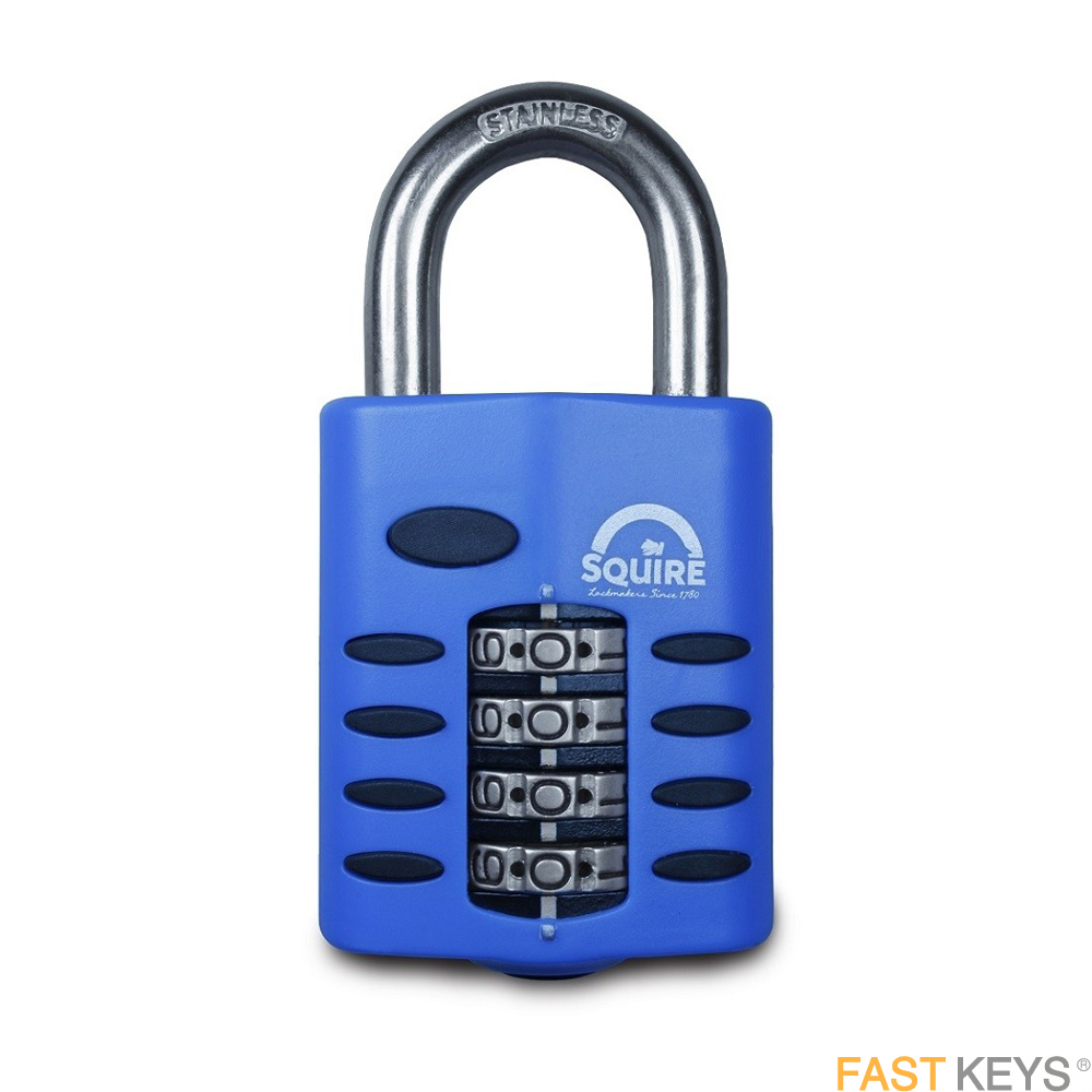 SQUIRE Padlocks - Combination - Standard shackle