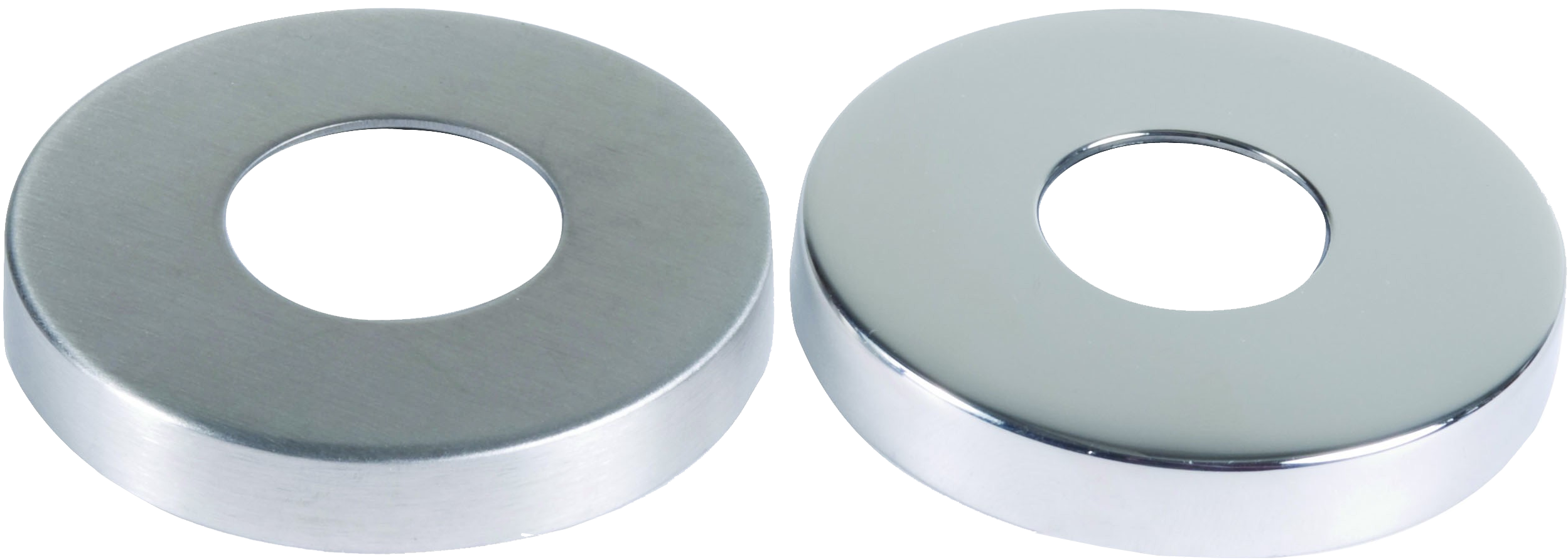 Concealed Fixing Pack 8mm Rose Door Pulls and Keyhole Escutcheons
