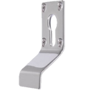 Euro Profile Cylinder Pull Escutcheon Handle Polished Stainless Steel Door Pulls and Keyhole Escutcheons