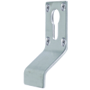 Euro Profile Cylinder Pull Escutcheon Handle Satin Stainless Steel Door Pulls and Keyhole Escutcheons