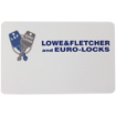 Lowe & Fletcher user card for RFID digital combination lock. RFID Cards