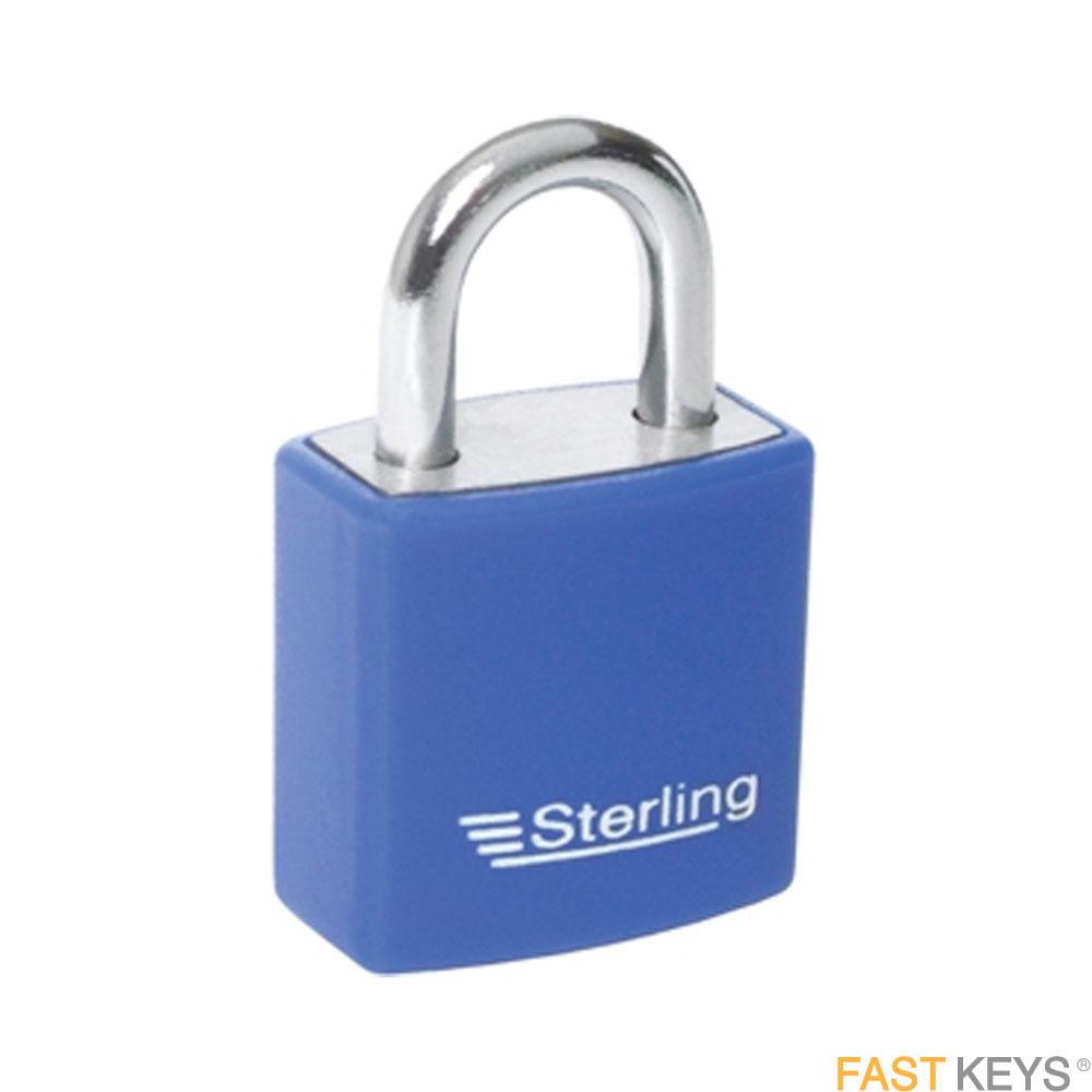 STERLING Padlocks - Keyed - Standard shackle